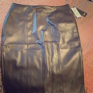 Brand new leather skirt